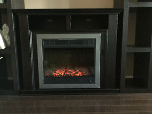 Moving sale, Electric Fireplace