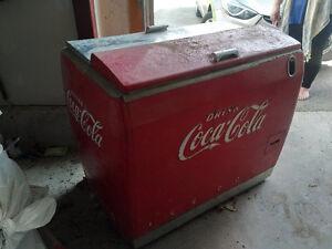 Vintage 1950's coke cooler