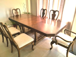 *****  DINING ROOM TABLE SET *****