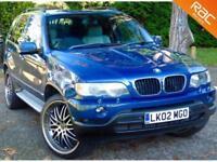 "2002 02 BMW X5 3.0 SPORT 24V 5D AUTO 228 BHP 22"" ALLOYS+HUGE SPEC!"