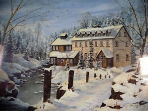 """Hand Signed and Numbered by Peter Robson """"Benmiller Inn"""" 1983 Stratford Kitchener Area image 2"""