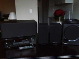 Yamaha 5.1 Stereo Receiver + Speakers