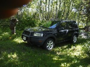 WILL PART OUT- 2002 Land Rover Freelander SE SUV, Crossover