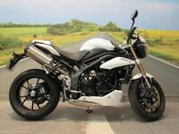 Triumph Speed Triple 1050** Reservoir Covers, Arrow Exhaust**
