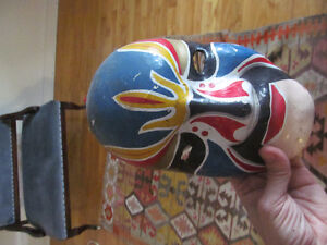 masque chinois antique vintage chinese mask antique