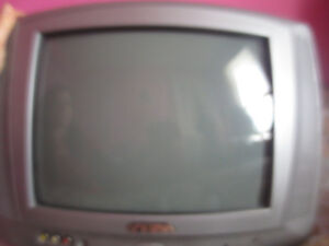 Tv with remote and Dora game