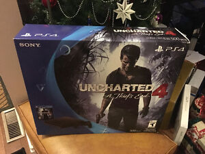 PlayStation 4 Slim 500GB - Uncharted 4 Bundle Unopened Box