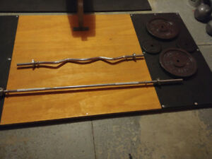 Weight Bars & Plates