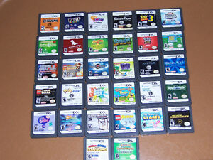 FOR SALE DS,GAMES NO BOOKS NO CASES 30 GAMES,