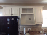 Great kitchen makeover deal kitchen cabinet spraying LOOK