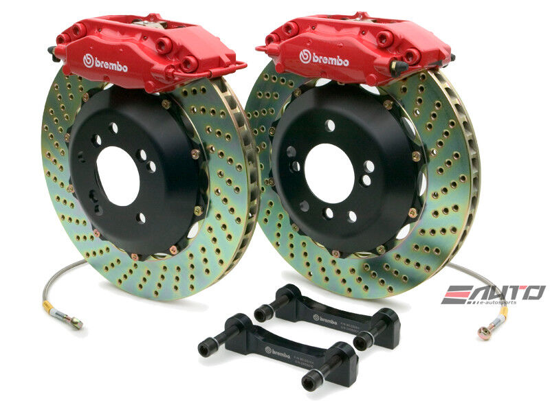 Brembo Rear Gt Brake Red 328x28 Drill Crossfire W202 W203 W208 W209 W210 R171
