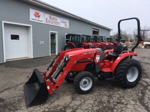 Massey Ferguson 24-39 hp Tractors - SALE CONTINUES FOR JULY!