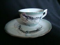 Dragon Cup/Saucer and Occupied Japan Miniature Teasets, etc.
