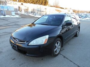 Honda Accord 5 Speed  183000KMS Comse With 1 Year Warranty