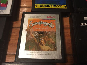 EXTREMELY RARE!!! Atari 2600 SWORDQUEST: WATERWORLD $80