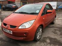 Mitsubishi Colt Cabriolet 1.5 CZC2 Convertible **BURNT ORANGE** CABRIOLET