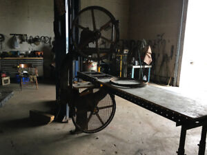 band saw Mill   - built in  Canada