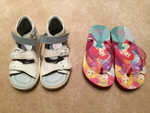 Toddler size 8 girl sandals