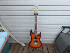 Fury BBM 12 String Sunburst Electric Guitar 2005
