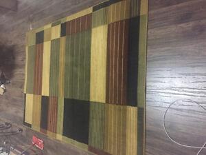 5x8 multi color decor carpet