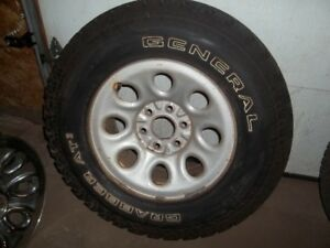 General Grabber AT2 on Chevy 6 bolt wheels with sensors 2657017