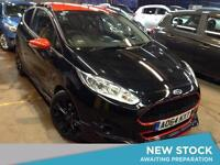 2014 FORD FIESTA 1.0 EcoBoost 140 Zetec S Black Edition Navigation 3dr