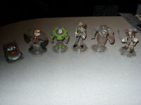 Disney Infinity Crystal Figures (Toys R Us Exclusive)