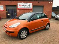 2005 Citroen C3 Pluriel 1.4i 3dr Convertible, Orange, **ANY PX WELCOME**