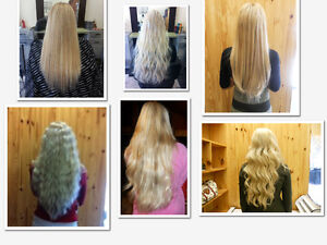 HAIR EXTENSIONS*HALF PRICE OF GL & OURS WILL LAST OVER 1 YEAR London Ontario image 5