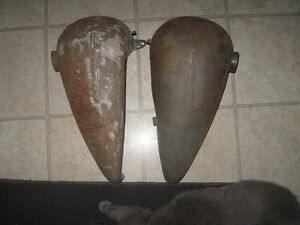 GENUINE HD AMF VINTAGE 5 GALLON OEM GAS TANKS