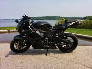 2008 CBR600RR Matte Black Graffiti Ed