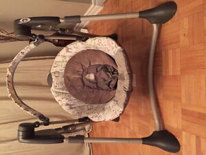 Graco Swing Set - Owl Design - Previously Owned