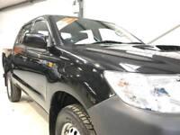 2014 TOYOTA HI-LUX HILUX ACTIVE 2.5D-4D 4WD DOUBLE CAB BLACK LOW MILEAGE 1 OWNER