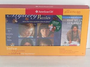 BRAND NEW AMERICAN GIRL MYSTERY PUZZLES AND BOOK GIFT SET
