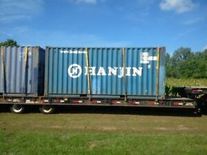 storage shipping containers 20 ft wind and water tight
