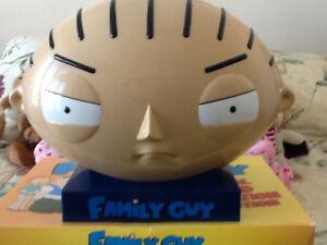 FAMILY GUY TOTAL WORLD DOMINATION DVD SET-STEWIE HEAD