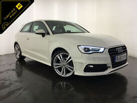 2014 AUDI A3 S LINE TDI DIESEL 1 OWNER FROM NEW FINANCE PX WELCOME