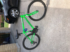 Mountain bike for sale. Had for one year. $80