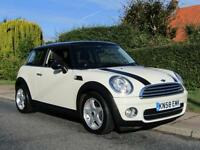2008 Mini Hatchback 1.6 COOPER D 3DR TURBO DIESEL * LOW MILEAGE *£20 TAX *FU...