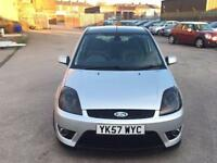 FORD FIESTA 1.6 DIESEL ZETEC S,HPI CLEAR,2 OWNER,REAR AND FRONT SPLITTER,£30 TAX