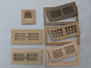 Vents for Floors, Walls, Ceilings, and Nosing