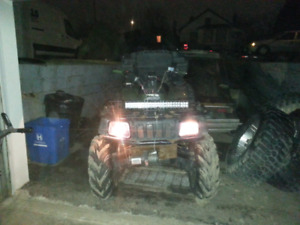 2004 ARCTIC CAT 400 ATV WITH WINCH PLOW 4X4 AUTOMATIC RUNS DRIVE