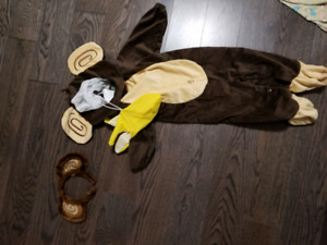 12 - 24 Months (2T) Monkey Halloween Costume