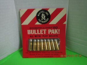 Mattel Winchester And Fanner Bullet Paks Sealed NOS