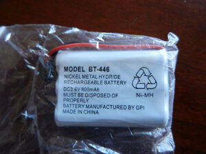 Brand new telephone Ni-MH battery BT-446 rechargable