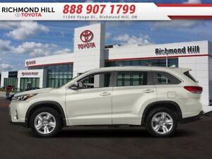2018 Toyota Highlander Limited AWD  - $395.24 B/W
