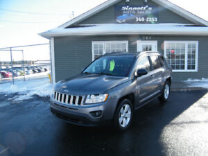 2011 Jeep Compass 4x4, 108,000 km, LOADED AND INSPECTED