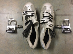 Cycle Clip Pedals and Shoes