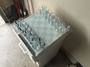 Shot glass chest set