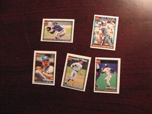 1991 Topps Toronto Blue Jays Baseball Mini Team Set Belleville Belleville Area image 7